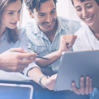 Listbild Application Manager CRM & Service till Office Management